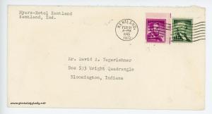 February 21, 1963 envelope