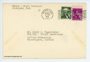 April 3, 1963 envelope