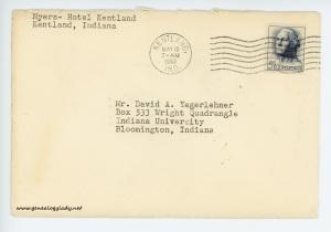 May 9, 1963 envelope