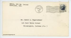 March 18, 1964, envelope