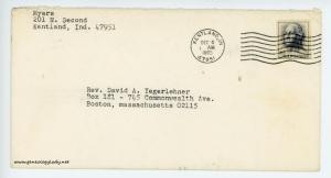 December 5, 1965 envelope