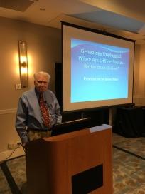 James M. Baker, PhD, CG