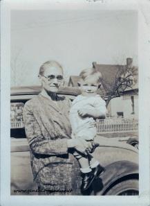 FOS1932 Emma (Lawhead) Foster with John - Terre Haute, 1932-02-28 #2