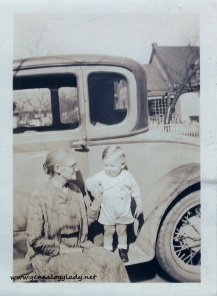 FOS1932 Emma (Lawhead) Foster with John - Terre Haute, Indiana, 1932-02-28 #3