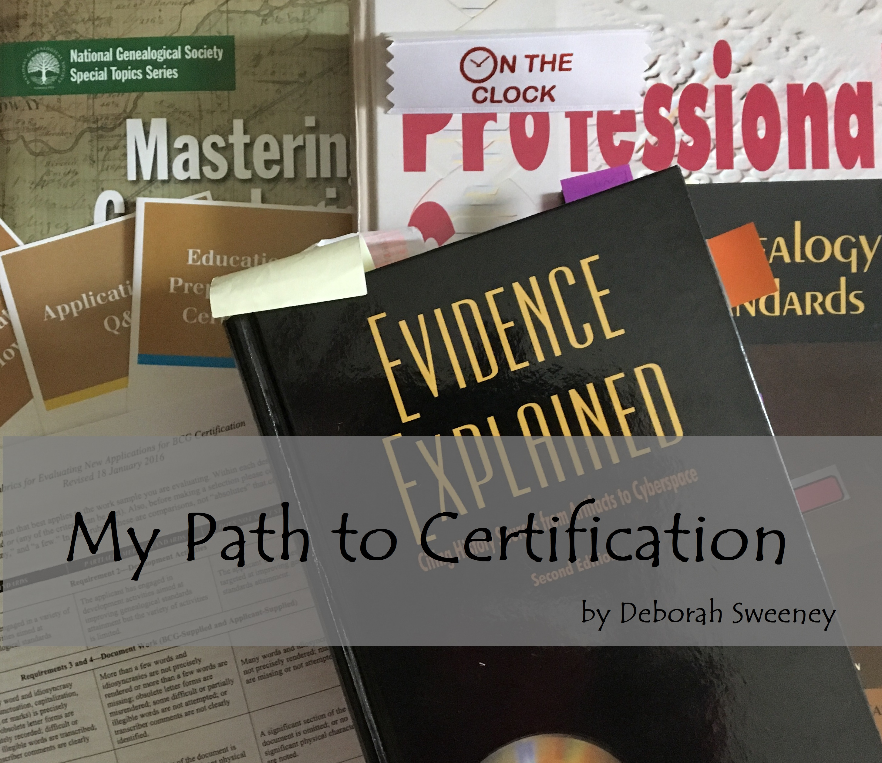 My path to certification issue no 8 genealogy lady happy new year i have decided to skip the year in reviewnew goals post this year my priority this year is to work on my bcg portfolio 1betcityfo Choice Image